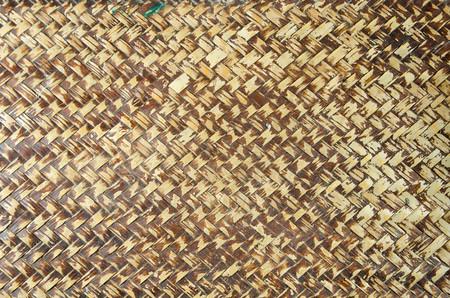 rattan mat: rattan texture background Stock Photo