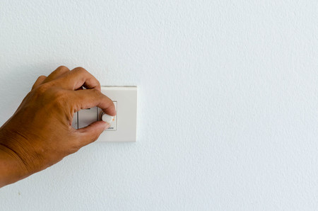 Hand trun off switch concept for save energy