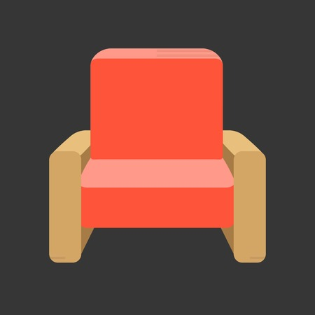 furniture design: Vector furniture,flat design