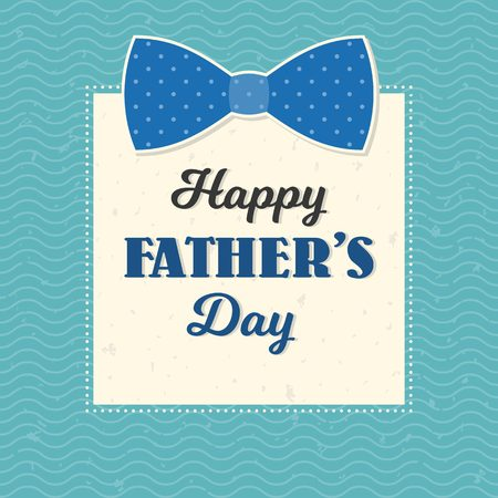 caligraphic: Happy fathers day illustration vector template, design for card or background with calligraphic font, typographical Fathers day in vintage style