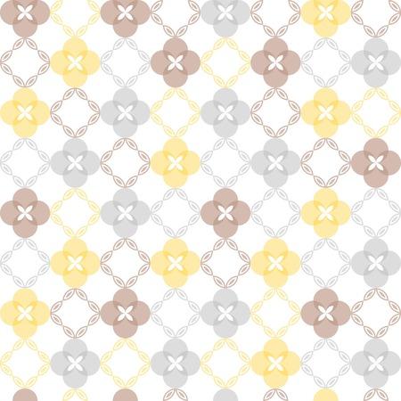 symmetrical: Seamless pattern. Classical geometrical texture, symmetrical