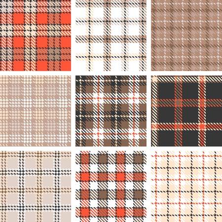 symmetrical: plaid seamless pattern background, symmetrical
