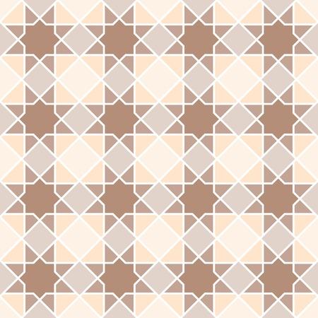 keywords backdrop: arabian geometric star seamless pattern background, symmetrical Illustration
