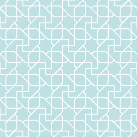 symmetrical: arabian geometric star seamless pattern background, symmetrical Illustration