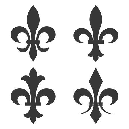 fleur de lis vector Illusztráció