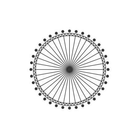 big wheel: Big Wheel vector