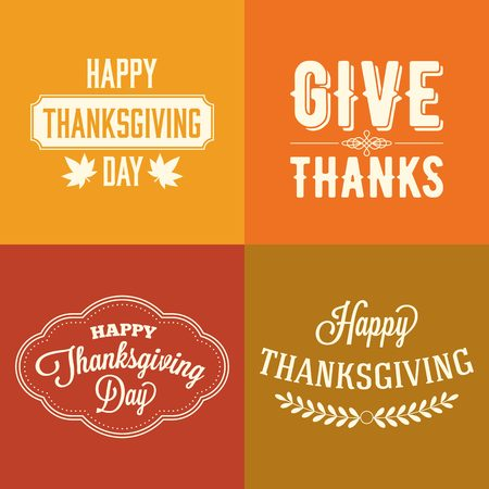caligraphic: thanksgiving  type font  typography  design and elements