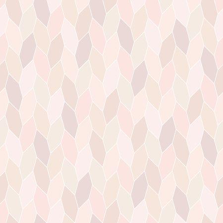 pastel tone: wide hex twist seamless pattern, pastel tone background Illustration