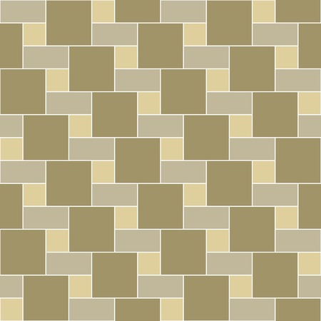 patio: seamless pattern brick tile, for background, path, toilet wall, patio, wooden floor, ceramic tile, paquet floor, stack and texture Illustration