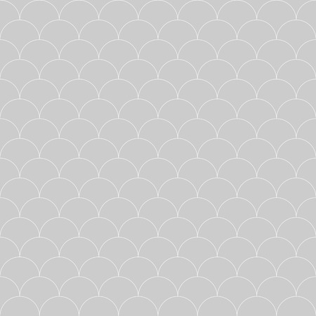 fish scale: seamless pattern Moroccan style, thin line fish scale background
