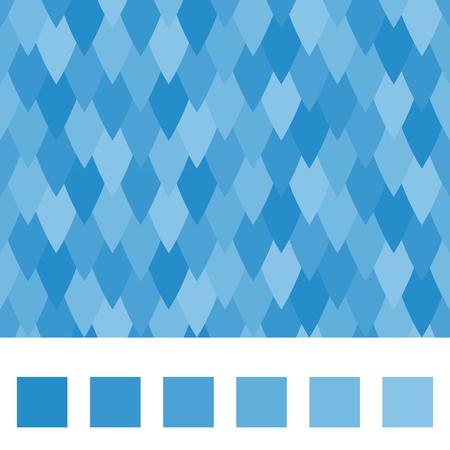 A seamless pattern, blue petal