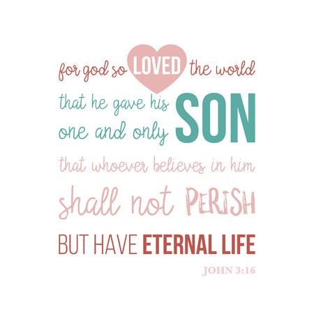 bijbel citaat typografisch voor afdrukken t-shirt of met behulp van in de poster