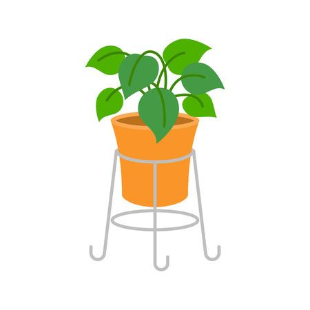 Vector Ornamental plants, flat design