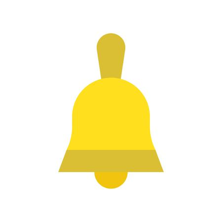 Christmas bell vector, Christmas related flat design icon