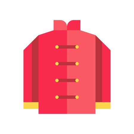 Chinese shirt vector, Chinese New Year related flat design icon