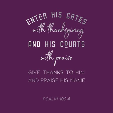 biblical verse from psalm for use as poster or printable