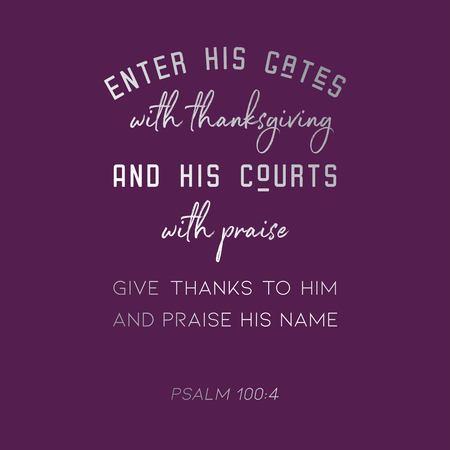 verset biblique du psaume à utiliser comme affiche ou imprimable