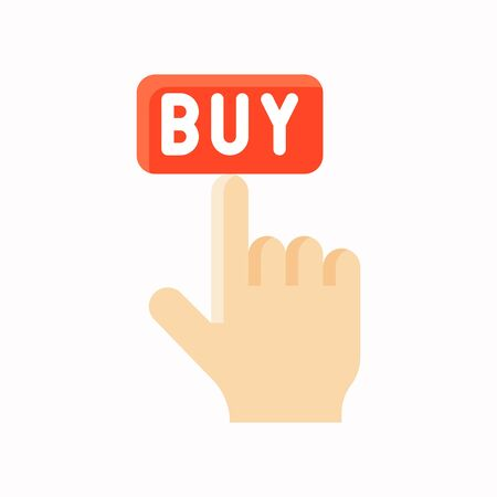 Buy vector, Black friday related flat design icon