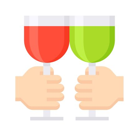 Cheers icon, Saint patricks day related vector illustration 向量圖像