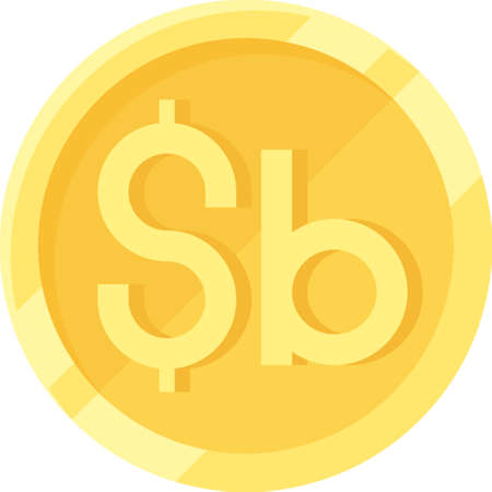 Bolivian boliviano coin vetor icon, currency of Bolivia Vector Illustration