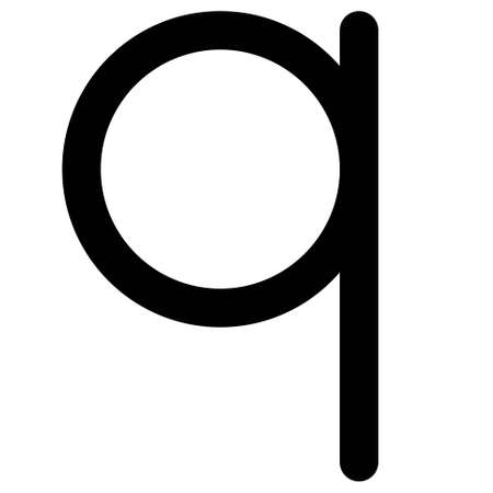Albanian qindarkë sign icon, currency of Albania