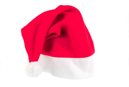bonnet: acicular, bonnet, cap, christmas, christmass, claus, clothes, cold, hat, head, illustration, new, put, red, santa, thick, wear, winter, xmas, year  Stock Photo