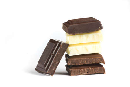 enjoyment; excess; food; greed; hunger; hungry; indulgence; milk-chocolate; sweet; sweets; unhealthy; unwrapped; weight; white-chocolate; dark-chocolate, overweight,
