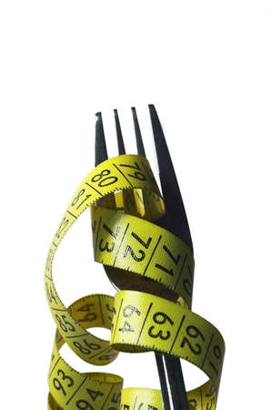 centimeter, centimetre, crutch, cutlery, diet, , eat, fall, fork, loose, measure,  weight, yellow,