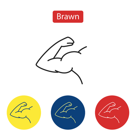Brawn line fit icons.