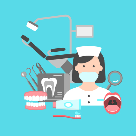 Dental clinic poster design