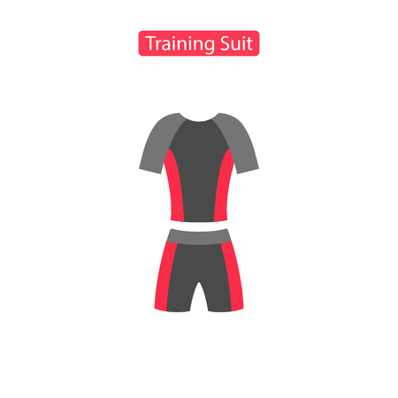 Training suit fit icons