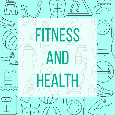 Fitness and health pattern