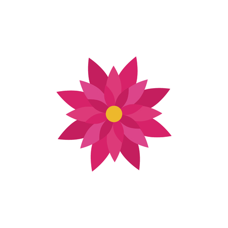 Universal Flower icon to use in web and mobile UI,