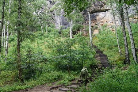 After rain forest I walk