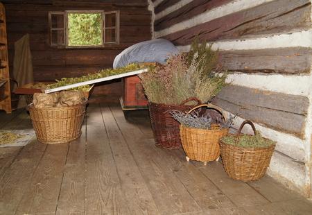 granary: timbered Granary