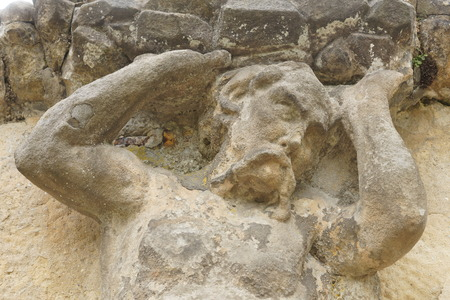 transience: ancient statues