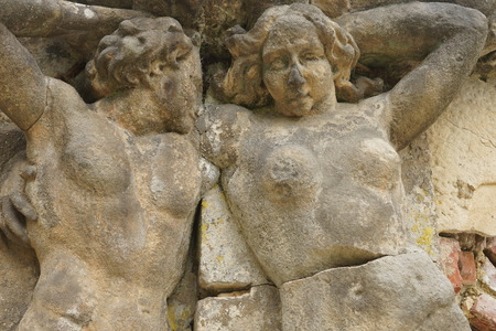 ravaged: old statues with soul