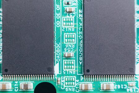 Circuit board repair. Electronic hardware modern technology. Motherboard digital personal computer chip. Tech science background. Integrated communication processor. Information engineering component