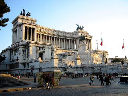 il: Il Vittoriano, Rome Stock Photo