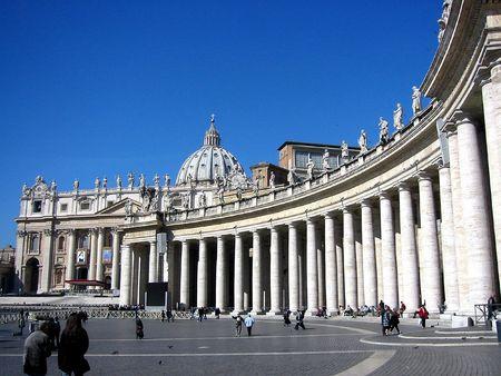 ciudad del vaticano: Plaza de San Pedro, ciudad del Vaticano; Roma; Italia Editorial