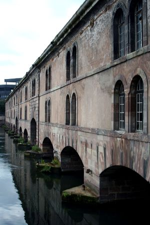barrage: The Barrage Vauban (Vauban weir), Strasbourg, France