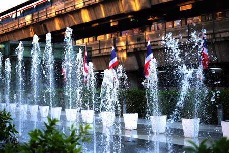 paragon: Outdoor fountain near Siam Paragon