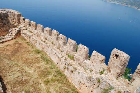 Alanya: Alanya Castle Stock Photo