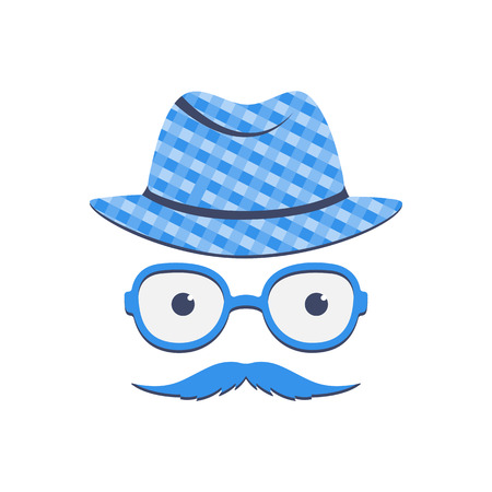 A man with a mustache in glasses and a hat