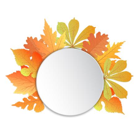 葉のあるフレーム。オクトーバーフェストへの感謝祭の日に、先生に秋のイベント用のテンプレート