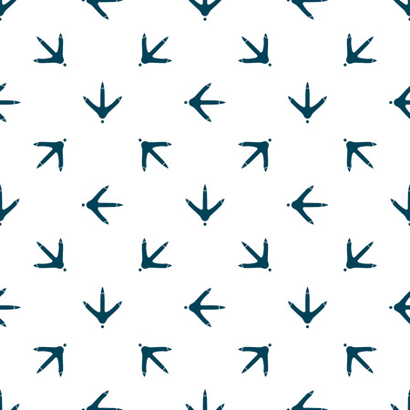 Ślad łapy kurczaka wzór na tkaniny, tapety, baner.