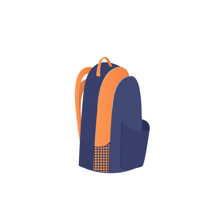 Backpack icon isolated on white background. sport luggage