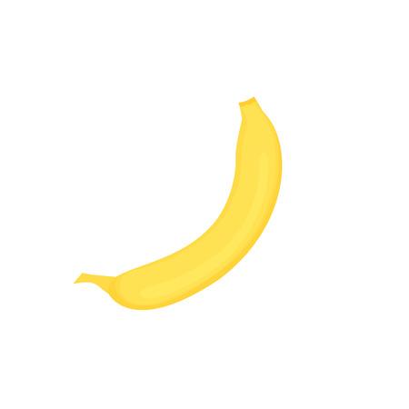 Fresh yellow ripe banana for healthy eating, organic food