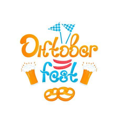 Oktoberfest - Bavarian festival. Banque d'images - 129443787