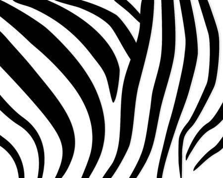 Zebra pattern. Abstract geometric pattern. Black and white animal skin background. Trendy stylish vector wallpaper. Иллюстрация